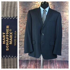 💙Hart Schaffner Marx dress suit blazer size 46R